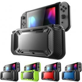Puskurinkuori ja jalusta Nintendo Switch -silikonikuorisuojaukseen