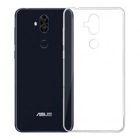Asus Zenfone 5 Lite silikonikotelo, läpinäkyvä kannettava kuori