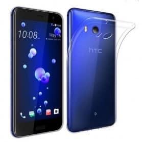 HTC U11 Life -silikonikotelo, läpinäkyvä matkapuhelimen TPU