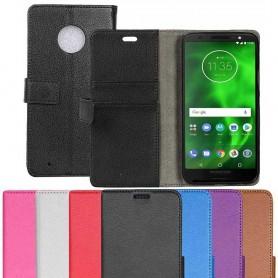 Matkapuhelimen 2-korttiinen Motorola Moto G6-matkapuhelimen kotelon kansi