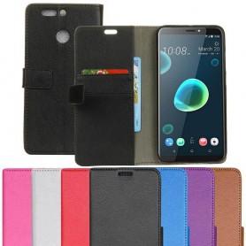 Kannettava lompakko 2-kortin HTC Desire 12 Plus -kotelo