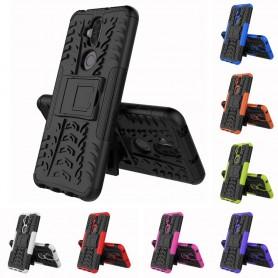 Zenfone iskunkestävä kuori telineellä Asus Zenfone 5 Lite ZC600KL