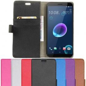 Kannettava lompakko 2-kortti HTC Desire 12 -kannettava kansi
