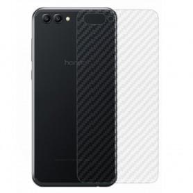 Hiilikuitu ihoa suojaava muovi Huawei View 10 mobiilisuojattu Caseonline