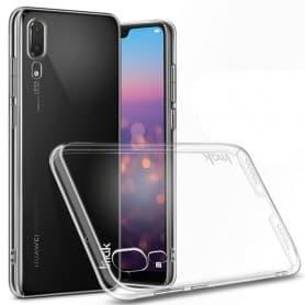IMAK Clear Hard Case Huawei P20 -puhelimen läpinäkyvä suojakotelo