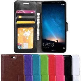 Kannettava lompakko 3-kortti Huawei Mate 10 Lite -kotelo