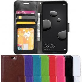 Kannettava lompakko 3-kortti Huawei Mate 10 Pro -kotelo