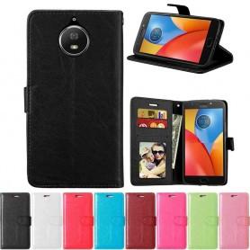 Mobile Wallet 3 -korttinen Motorola Moto G5S XT1794 matkapuhelinlaukku