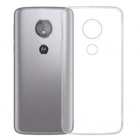 Silikonikotelo Läpinäkyvä Motorola Moto E5 matkapuhelin
