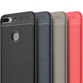 Nahkakuvioitu TPU-kuori HTC Desire 12 Plus matkapuhelimen kuori