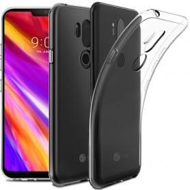 LG G7 ThinQ silikonikotelo, läpinäkyvä kannettava kuori