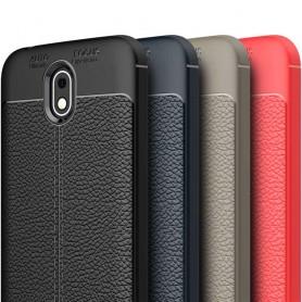 Nahkakuvioitu TPU-suojakuori Nokia 1 matkapuhelimen suojaus