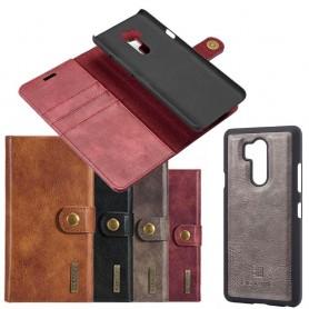 Kannettava lompakko Magneettinen DG Ming LG G7 ThinQ matkapuhelimen kotelo