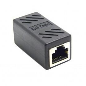 LAN-sovitin CAT6 RJ45 naaras - naisten yhteysdataverkko