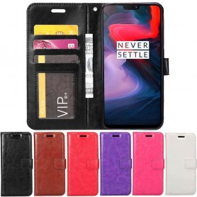 Kannettava lompakko 3-kortti OnePlus 6 -kotelo