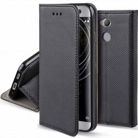 Moozy Smart Magnet FlipCase Sony Xperia XA2 -kotelo