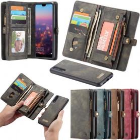 Multi Wallet 11 Card Huawei P20 Pro kannettava suojakotelo Caseme Caseonline