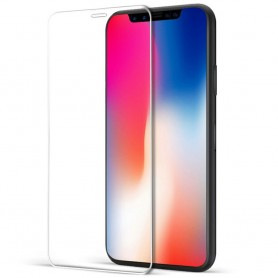 Apple iPhone X 5D kaareva karkaistu lasi