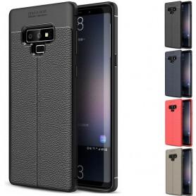 Nahkakuvioitu TPU-kuori Samsung Galaxy Note 9