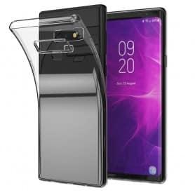 matkapuhelinkuori Samsung Galaxy Note 9 silikonikotelo läpinäkyvä