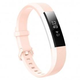 Sport Fitbit Alta HR: lle - vaaleanpunainen