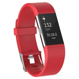 Sport Fitbit Charge 2: lle - punainen
