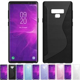 S Line silikonikuori Samsung Galaxy Note 9 matkapuhelin