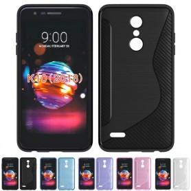 S Line silikonikuori LG K11 (2018) matkapuhelin