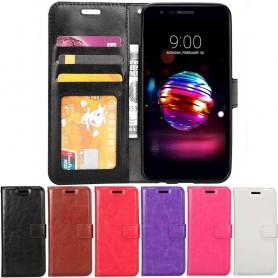 Kannettava lompakko 3-korttinen LG K11 (2018)-matkapuhelinlaukku