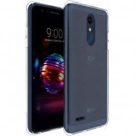 LG K11 2018 silikonikotelo, läpinäkyvä kannettava suoja