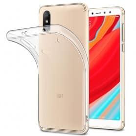Xiaomi Redmi S2 silikonikotelo, läpinäkyvä kannettava kuori