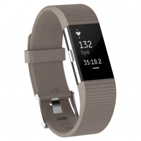 Sport Fitbit Charge 2: lle - beige