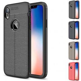 """Nahkakuvioinen TPU-kannettava Apple iPhone XR (6.1 """")"""