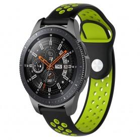 EBN Sport -rannekoru Samsung Galaxy Watch 46mm-Musta / Vihreä
