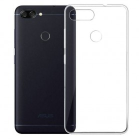 Asus Zenfone Max Plus silikonikotelo - läpinäkyvä kannettava kuori
