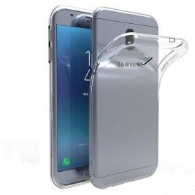 Samsung Galaxy J7 2018 silikonikotelo, läpinäkyvä kannettava kuori