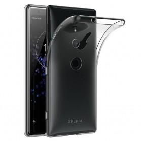 Sony Xperia XZ3 silikonikotelo, läpinäkyvä kannettava kuori