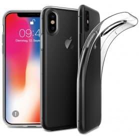 Apple iPhone X -silikonikotelo - läpinäkyvä kannettava kotelo - suojaa CaseOnline