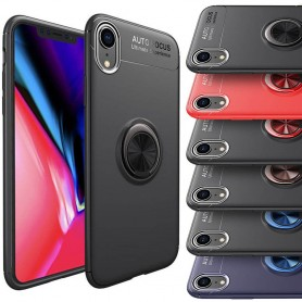 "Slim Ring rengaskotelo Apple iPhone XR (6.1 "") -puhelimen kuorirasia"