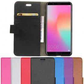 Kannettava lompakko 2-kortti Huawei Honor View 10 matkapuhelimen kotelo