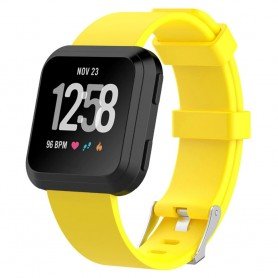 Sport rannekoru Fitbit Versa - keltainen rannekoru