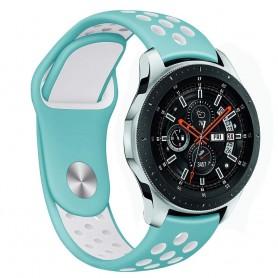 EBN Sport -rannekoru Samsung Galaxy Watch 46mm - Mint / valkoinen