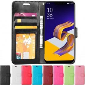 Siirrettävä lompakko 3-kortti Asus Zenfone 5 ZE620KL -kotelo