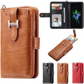 Moni lompakko 3i1 -magneettinen 9-korttinen Apple iPhone XS Max -laukku lompakko