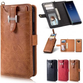 Multi Wallet 3i1 9 -kortti Samsung Galaxy Note 9 -kotelo Magnetic 2i1 -kotelo Caseonline