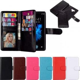 Kaksinkertainen läppämagneetti 2i1 Samsung Galaxy Note 9 - Magneettinen kannettava lompakko