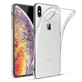 Apple iPhone XS Max Silicone Case -läpinäkyvä matkapuhelinkotelosuojaus
