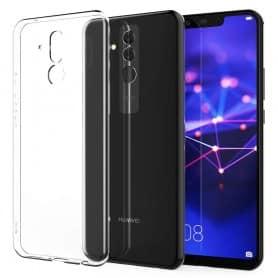 Huawei Mate 20 Lite silikonikotelo, läpinäkyvä kannettava kuori