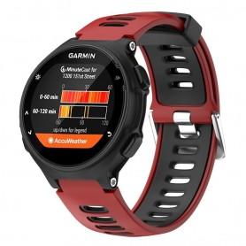 Sport Rannekoru Garmin Forerunner 220/230/235/620/630 / 735XT - punainen