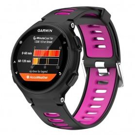 Sport Garmin Forerunner 220/230/235/620 / 630 / 735XT - vaaleanpunainen